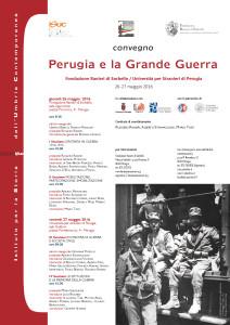 LOCANDINA ISUC FondazSorbello -_Perugia e la Grande guerra - Perugia 26-27giu2016
